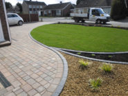 Front gardens and driveways