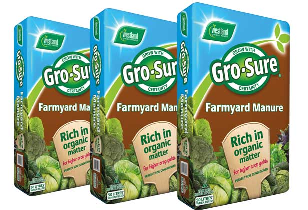 Gro-Sure Farmyard Manure 50ltr