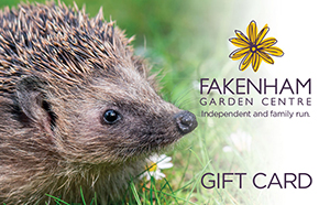 Treat friends and family with a Fakenham Garden Centre Gift Card