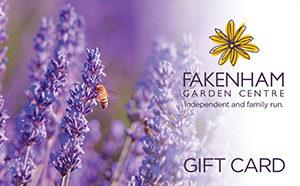 fakenham garden centre gift card lavender