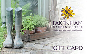 fakenham garden centre gift card wellies