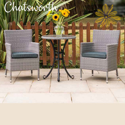 Chatsworth 2 Seat Bistro Set
