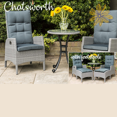 Chatsworth Recliner Bistro Set