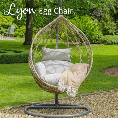 Lyon Teardrop Egg Chair