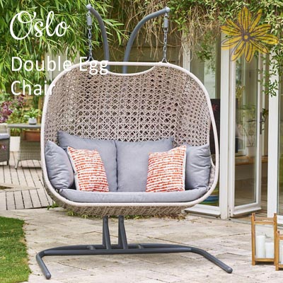NEW Oslo Double Egg Chair