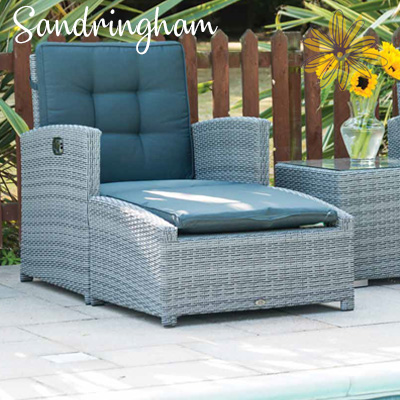 Sandringham Luxury Reclining Lounger Set