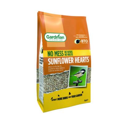 Gardman Sunflower Hearts 4kg