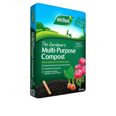 The Gardener's Multipurpose Compost 50L + 20 free
