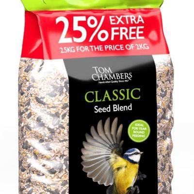 Tom Chambers Classic Seed Blend 2kg