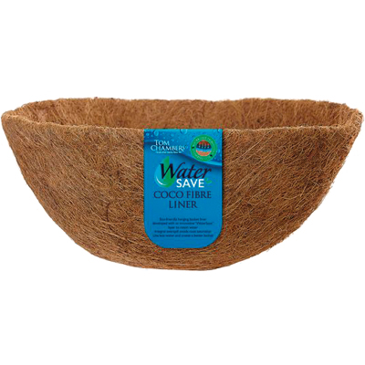 Watersave Co-Co Fibre Hanging Basket Liner