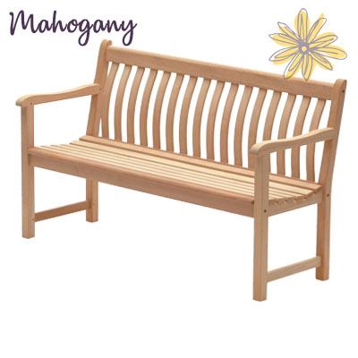 Mahogany 5ft Broadfield Bench