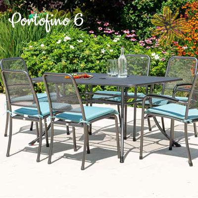 Portofino 6 Seat Rectangular Set