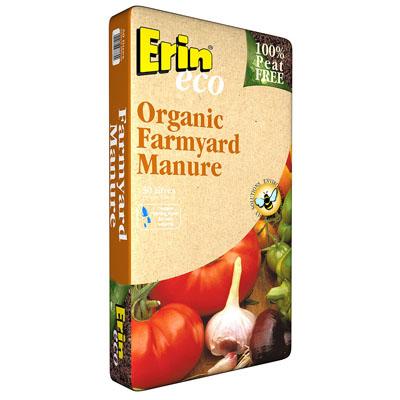 Erin Organic Farmyard Manure 50Lt