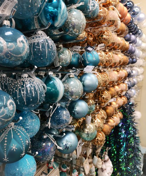 Blue and Brown Baubles