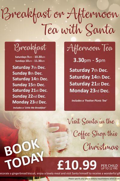 Tea with santa